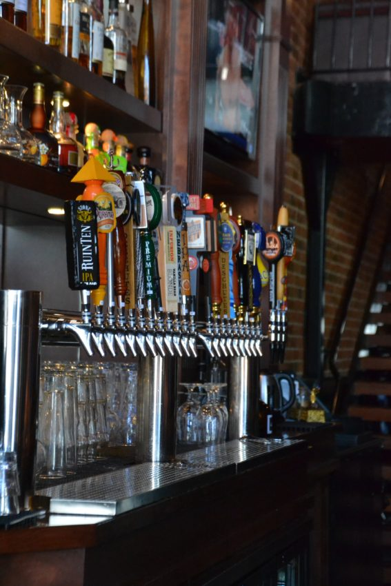 Craft drinks and Beer at Wilson and Washburn