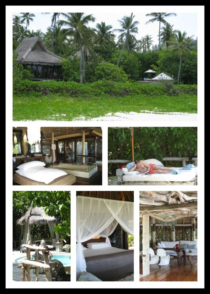 how are the accommodations on north island in the seychelles