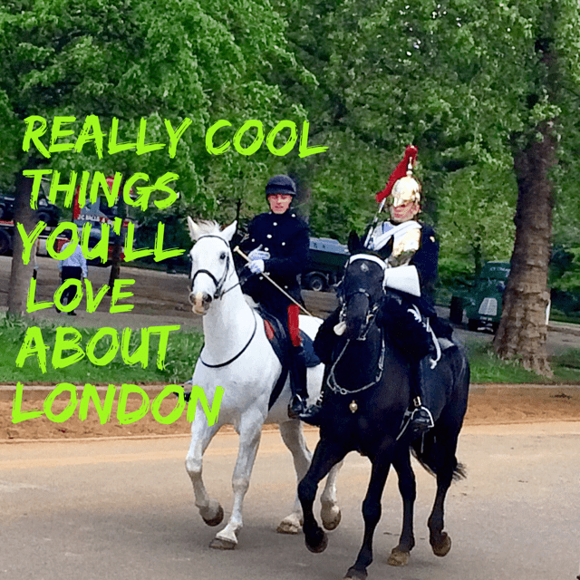 what are some really cool things to love about london