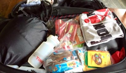 packing for a triathlon race
