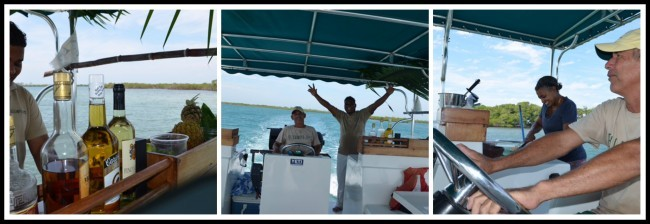 boat rides at belcampo belize