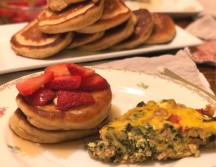 Breakfast for Dinner: Protein-Filled Krusteaz Pancakes